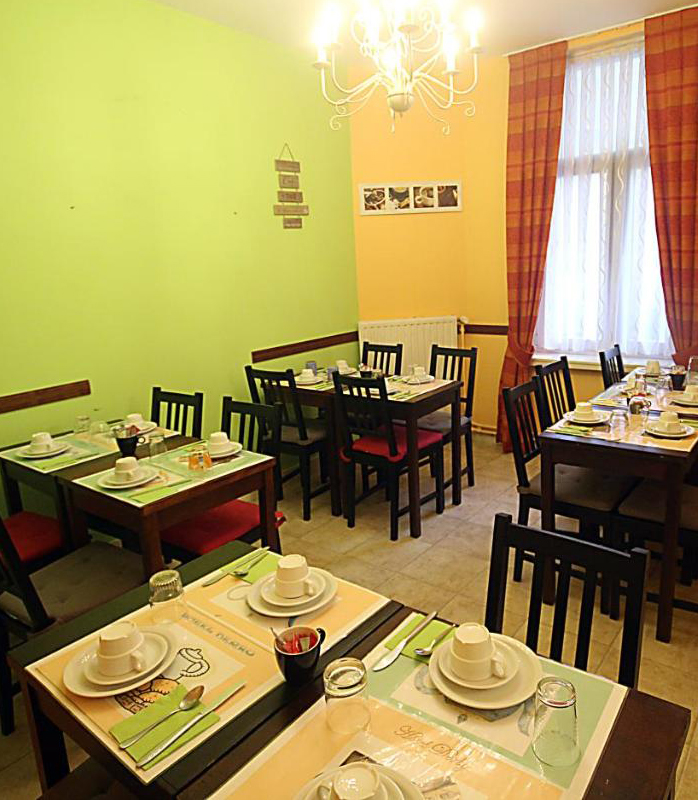 Hôtel Derby - Salle petit déjeuner
